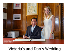 Victoria and Dan - Registry Office London